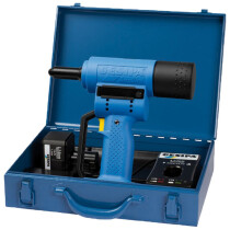 Gesipa Accubird (2) Cordless Riveter with 2 x 1.3Ah Lithium Ion Batteries