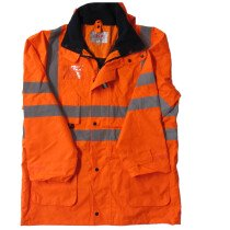 JSP ACE Unlined HiVis Jacket Orange Extra-Large