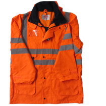 JSP ACE Unlined HiVis Jacket Orange Large