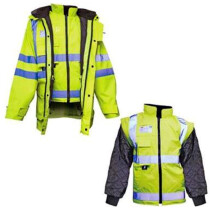 JSP ACE610 Hi Vis Multi-Option Jacket / Body Warmer