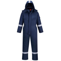 Portwest AF84 Araflame Plus Insulated Flame Resistant Coverall - Available in Navy Blue or Orange