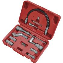 Sealey AK4482 Grease Gun Adaptor Kit 12 Piece