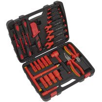 Sealey AK7945 1000V Insulated Tool Kit 27 Piece VDE Approved