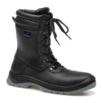 V12 Footwear 3016702 (UK Size 6)  Alpine Zip Sided Hi Leg Safety Boot Black