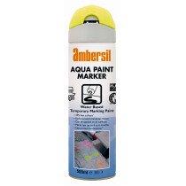 Ambersil 32050 Aqua Marking Aerosol Temporary Marking Paints Water-Based Lower Environmental Impact - White