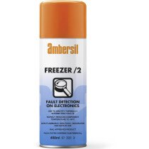 Ambersil 33182 Freezer/2 Fault Detection for Electronics 400ml Pack of 12