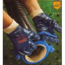 Ansell-Edmont 27-602 Ansell Hycron Fully Coated Knitwrist Glove (Pack of 12)
