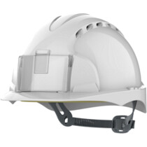 JSP EVO 2 Vented Badge Integrated Identity One Touch Safety Helmet