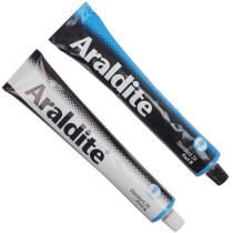 Araldite ARL400002 Industrial Standard Epoxy 2 x 100ml Tubes ARA400002