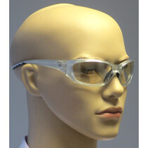 JSP ASA680-121-300 Safety Spectacle Glasses (With FREE Pouch and Wipe)
