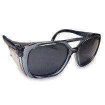 JSP ASA130-026-400 Invincible Orion Safety Spectacles with Smoke UV400 Lens