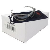 JSP Atlas 1003 (Box 10 pairs) Safety Spectacle Glasses (FREE Pouches and Wipes)