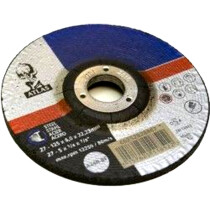 "Atlas 66252828867 Metal Grinding Disc 125mm x 6mm (5"" x ¼"") A24R-BF"