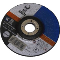 "Atlas 66252828885 Depressed Centre Metal Cutting Disc 125mm x 3mm (5"") A30S-BF"