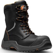 V12 Footwear VR620.01 Avenger IGS Black High Leg Safety Boot S3 HRO SRC