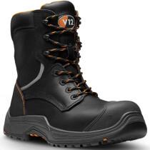 V12 Footwear VR620.01XL Extra Large Avenger IGS Black High Leg Safety Boot S3 HRO SRC