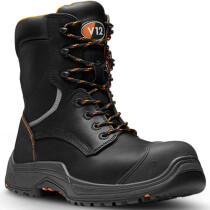 V12 Footwear VR620.01 Avenger IGS Black High Leg Safety Boot S3 HRO SRC