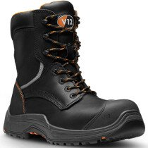 V12 Footwear VR620.01XL Extra Large Avenger IGS Black High Leg Safety Boot S3 HRO SRC