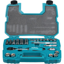 "Makita B-65589 1/2""DR Socket Set 23 pce"