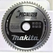 Makita B-09709 250x30mm 80T Circular Saw Blade for Aluminium