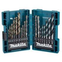 Makita B-49432 18 Piece Mixed Drill Bit Set