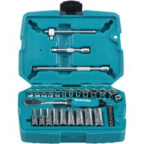 "Makita B-65567 34 Piece 1/4"" Drive Socket and Bit Set"