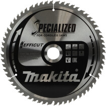 "Makita B-67234 260 x 30mm 60T  Saw Blade ""Efficut"""
