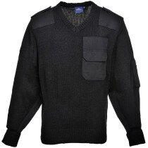 Portwest B310 Nato Acrylic Sweater with Shoulder & Elbow Patches