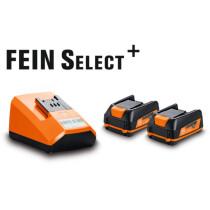 Fein 12V Compact Battery Starter Set includes 2 x 2.5ah 12v Batteries & Charger