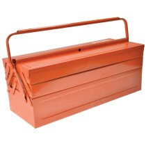 Bahco 3149-OR Orange Metal Cantilever Tool Box 21in BAH3149OR