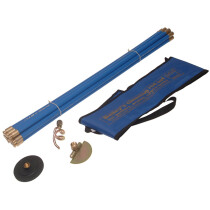 Bailey 5431 Universal Drain Rod Set with 3 Tools BAI5431