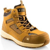 Buckbootz Baz Largo Bay Leather/KUP Safety Boot S1 P HRO SRC