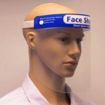 Lawson-HIS BB-FC202.F01 Clear Face Shield Visor with Cushioned Headband 330x220x0.35mm