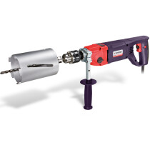 Sparky SPKBBK, HD Professional 1100W Impact Core Drill & Accessory Set in a Case