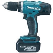 Makita DDF453RFE 18V Drill/Driver with 2x 3.0Ah Batteries in Case