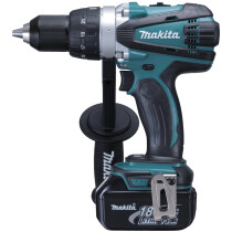 Makita DDF458RTJ 18V Drill/Driver with 2x 5.0Ah Batteries in MakPac Case
