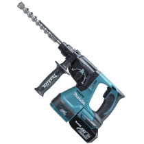 Makita DHR242RTJ 18V Brushless 24mm SDS 3-Function Hammer with 2x 5.0Ah Batteries in Makpac Case