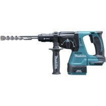 Makita DHR243Z Body Only 18V Brushless 24mm SDS Hammer with Quick Change Chucks