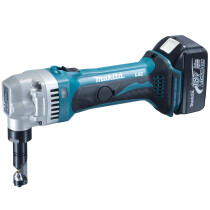 Makita DJN161RTJ 18v Li-ion Cordless Nibbler 1.6mm (2 x 5.0Ah) Replaces DJN161RMJ
