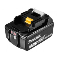Makita BL1830B 18v 3.0Ah Lithium Ion Battery With Level Indicator 197599-5