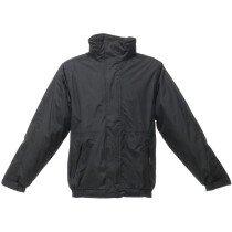 "Regatta TRW297 Dover Jacket - Black/Ash Large (42"" Chest)"