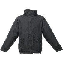 "Regatta TRW297 Dover Jacket - Black/Ash Large (42"" Chest)"