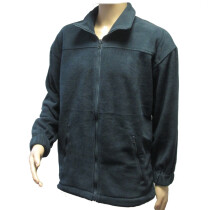 Superior M1002200 Super Quality Navy Blue Cove Fleece Jacket (Small)