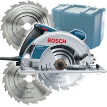 Bosch GKS190 [+ 2 EXTRA BLADES] 190mm Hand Held Circular Saw  with 2 Extra Blades