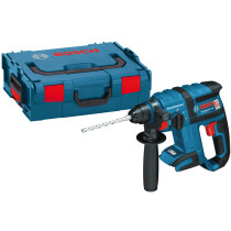 Bosch GBH18VECLBOXX Body Only 18V SDS Plus Rotary Hammer Drill with Brushless Motor in L-Boxx