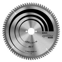 Bosch 2608640433 216x30mm 60T Circular saw blade