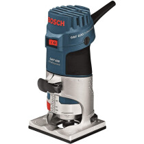 "Bosch GKF 600 110V 1/4"" 6-8mm Professional Palm Router"