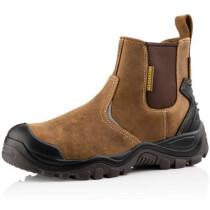 Buckbootz BSH006BR Buckshot 2 Brown Leather Safety Dealer Boot S3 HRO WRU SRC