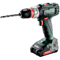 Metabo BS18L QUICK 18v Drill / Driver with 2 Batteries in Case