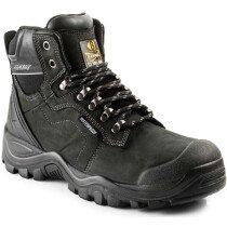 Buckbootz BSH009WP Buckshot 2 Leather S3 Safety Lace Boot HRO WRU SRC